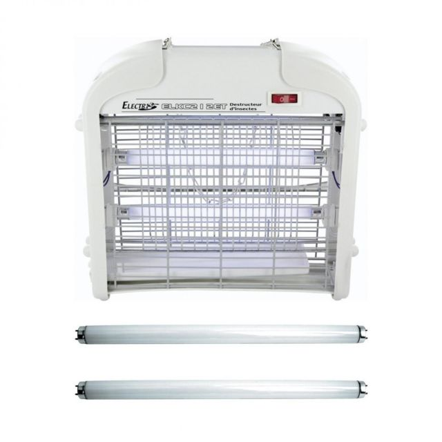 Désinsectiseur DURAMAXX Mosquito Buster 5000 Tue anti insecte volant UV noir 15W