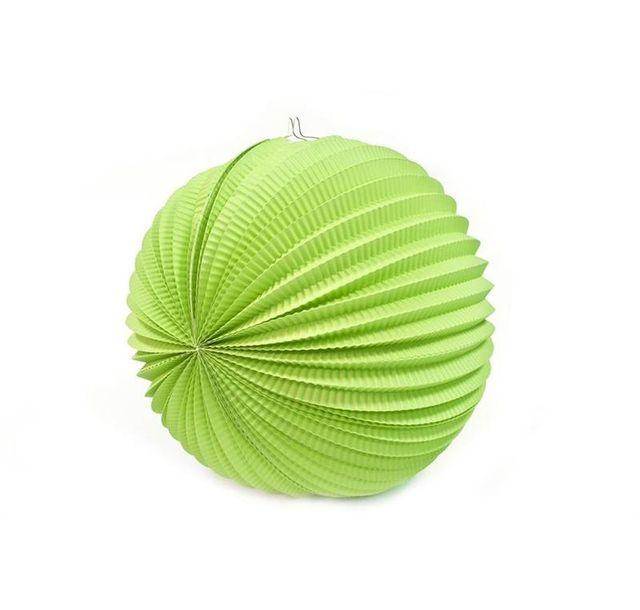 1001decotable boule en papier accord on vert anis 20 cm pas cher achat vente articles de. Black Bedroom Furniture Sets. Home Design Ideas