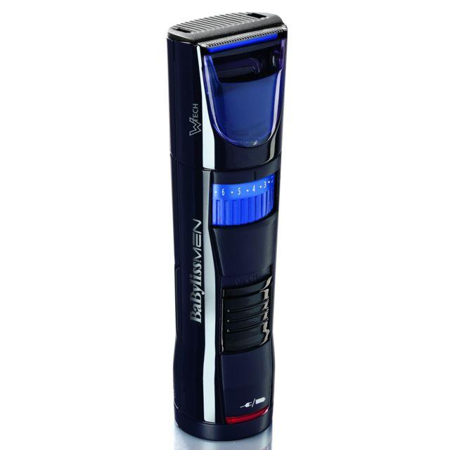 BABYLISS Tondeuse à barbe - P1095E - Noir/Bleu