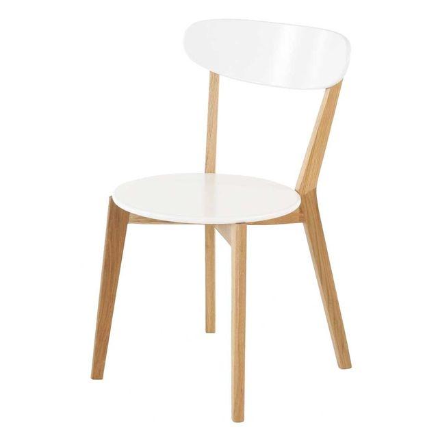 Lebrun Chaise 45 X 52 cm Blanche Lola