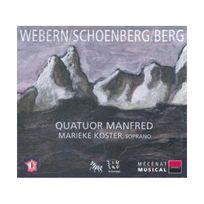 Zig Zag Territoires - Quatuor Manfred play Webern, Schoenberg, Berg