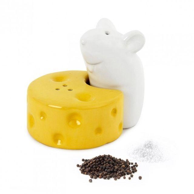 Kas Design Salière et Poivrière I Love Cheese