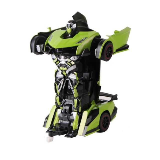Air Rise Robot Voiture justice fighter vert