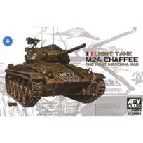 Afv Club - Maquette Char : M-24 Chaffee Armée Française Indochine 1950 + 1 figurine