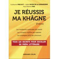 Armand Colin - je réussis ma khâgne 2e édition