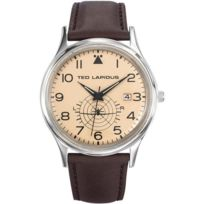Ted Lapidus Montres - Montre Ted Lapidus Heritage 5130502 - Montre Ronde Cuir Homme