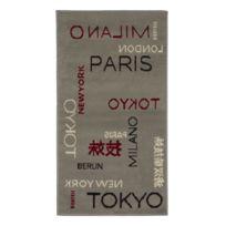Mon Beau Tapis - Tapis Massai Tokyo 110x60cm, Gris