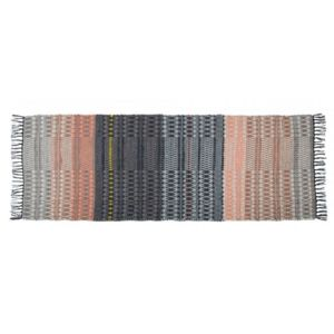 inside 75 zuiver tapis salmon design scandinave 80 x 200 bi color pas cher achat vente. Black Bedroom Furniture Sets. Home Design Ideas