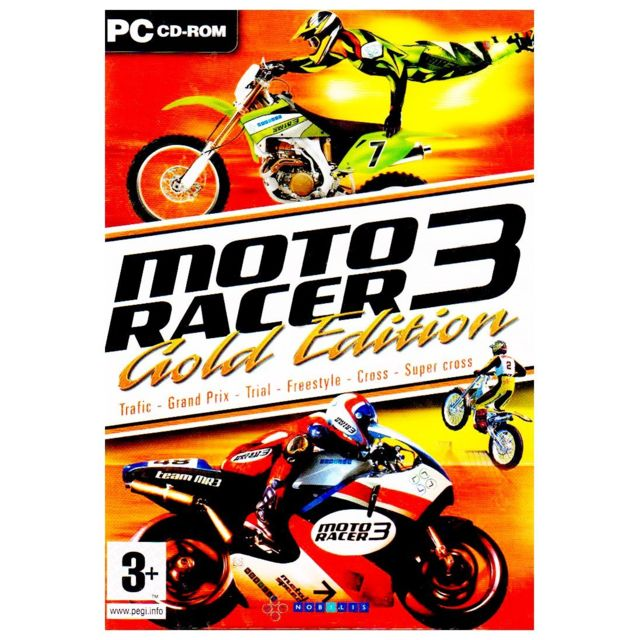 moto racer 3 gold edition jeu pc achat jeux pc dans le rayon jeux et consoles. Black Bedroom Furniture Sets. Home Design Ideas
