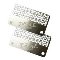 """V Syndicate Grinder Card - Double carte grinder """"Dual"""