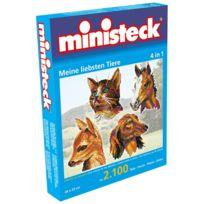 Ministeck - Mes doux animaux 4-en-1