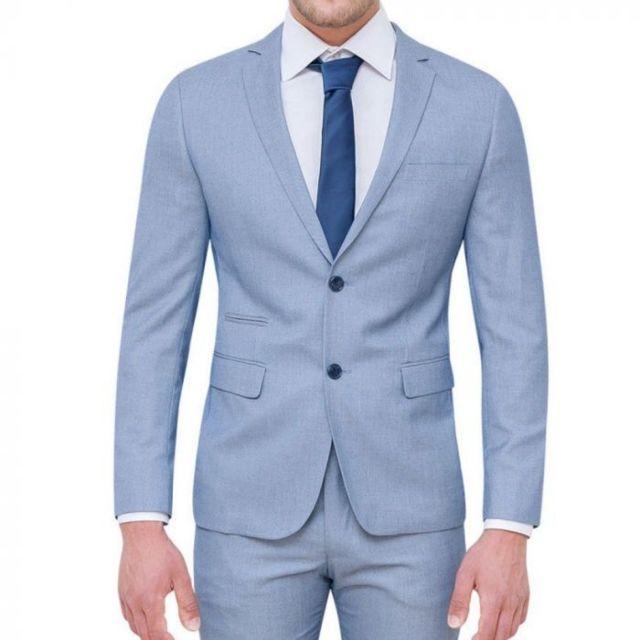 Prestige Man - Costume homme bleu ciel - pas cher Achat   Vente ... 2b4b39e5caf