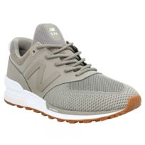 New Balance 574 Sport Velours Toile Homme Navy
