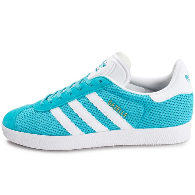 Adidas originals - Gazelle Mesh Turquoise Bleu - pas cher ...
