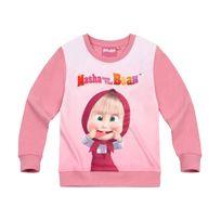 Massive Apparel - Masha et Michka Fille Sweat-shirt
