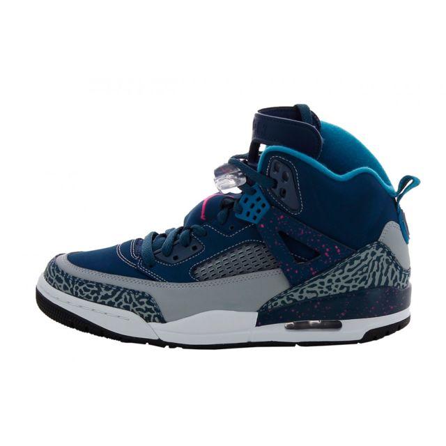 59b80bbda5e Nike - Basket Jordan Spizike - 315371-407 - pas cher Achat   Vente Baskets  homme - RueDuCommerce
