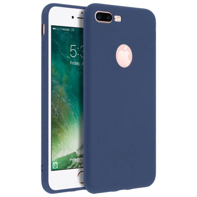 coque silicone iphone 7 bleu nuit