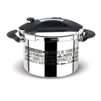 SITRAM - Autocuiseur 8 L Inox Gamme SPEEDO