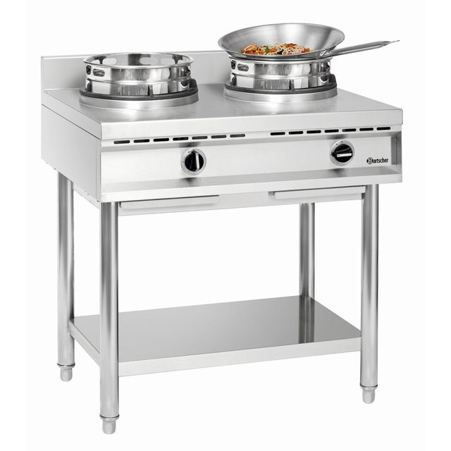 Bartscher Cuisiniere a wok a gaz Gwh2