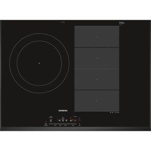 siemens table induction 70cm 3 feux 7400w ex751fjc1f achat plaque de cuisson induction. Black Bedroom Furniture Sets. Home Design Ideas