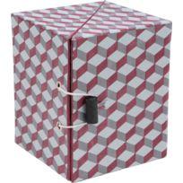 AMADEUS - Boite dépliable motifs géométriques