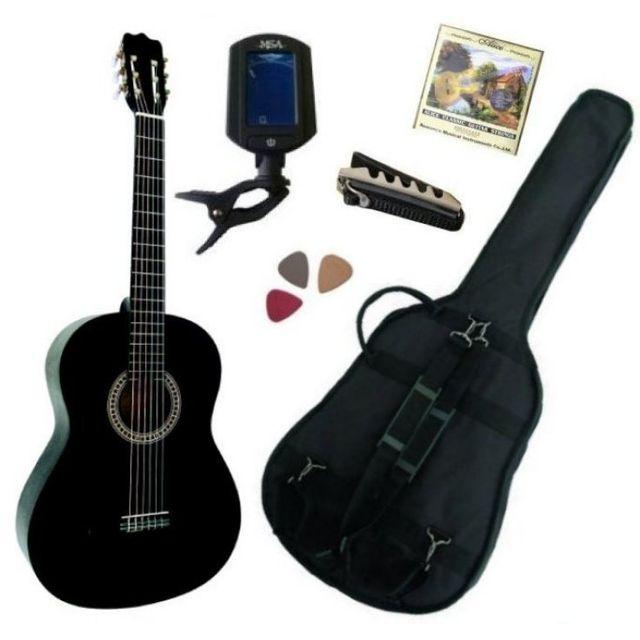 msa pack guitare classique 4 4 adulte gaucher avec 5. Black Bedroom Furniture Sets. Home Design Ideas