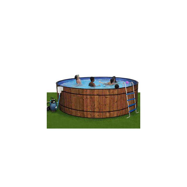 Toi vigipiscine kit piscine hors sol acier barrica for Piscine hors sol acier habillage bois