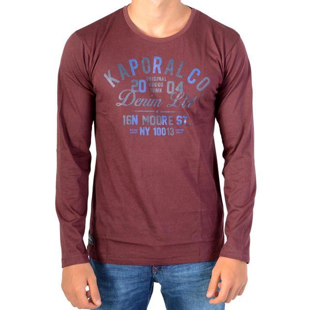 13e0f62c30ec6 Kaporal 5 - Tee Shirt Kaporal Enfant Nerug - pas cher Achat   Vente Tee  shirt enfant - RueDuCommerce