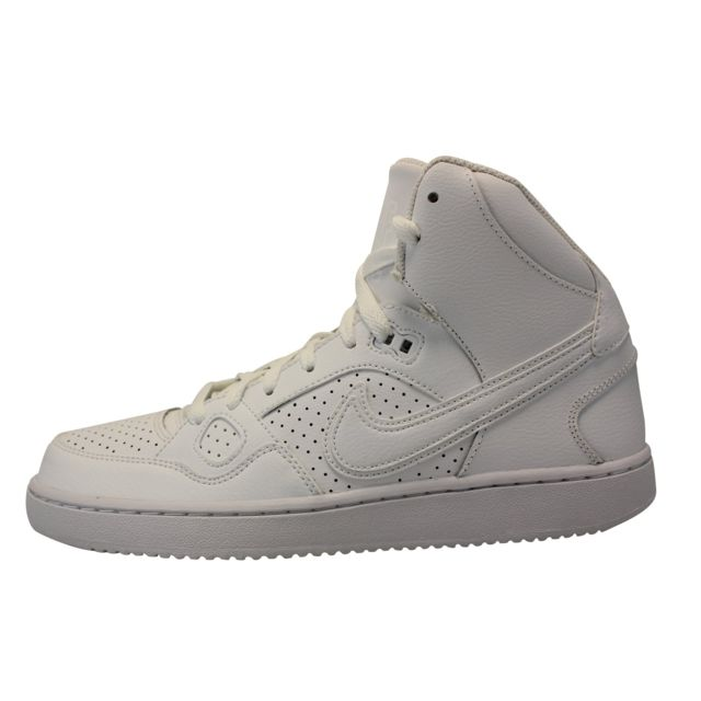 Nike Son Of Force Mid Blanc pas cher Achat Vente
