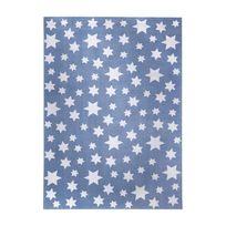 Wecon Home - Tapis Jean Stars Bleu par - Couleur - Bleu, Taille - 80 / 150 cm