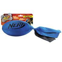 Nerf - Jouet chien ballon lanceur nylon 30.5 bleu