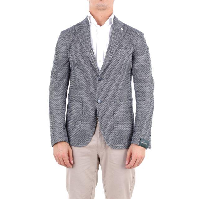 Brando Homme 286595872 Bleu Coton Blazer