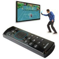 Wewoo - Gp830 Air Mouse Souris Sans noir Fil Somatosensoriel Télécommande Clavier avec Game Pad Fonction et Voice Transceiver