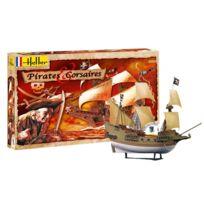 Heller - Maquette bateau : Kit complet : Pirates et corsaires