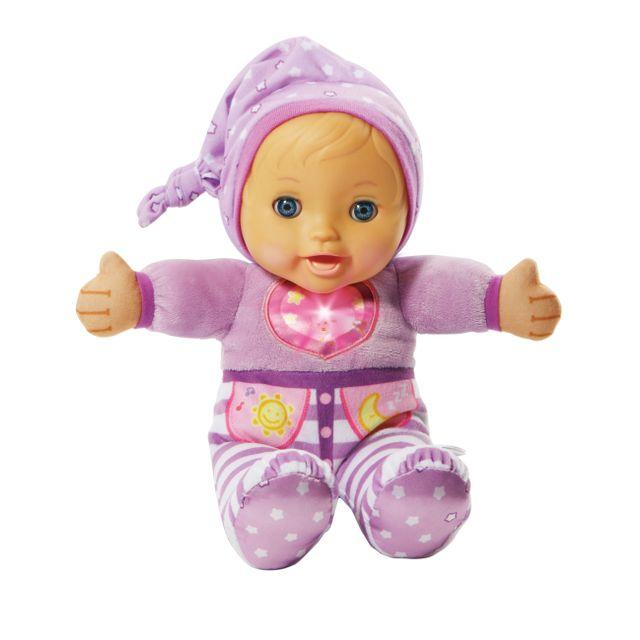 VTECH Little Love - Mon bébé à bercer - 196605 Une poupée interactive toute douce qui s'endort quand on la berce !