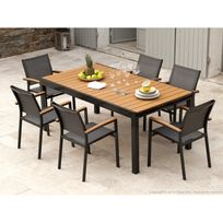 Table Exterieure Bois. Good Best Fabriquer Table De ...