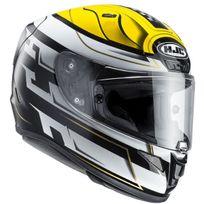 Hjc - casque moto intégral Fibre Rpha 11 Racing Skyrym Mc-3 S