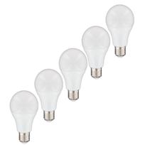 Nityam - Lot de 5 ampoules Led Standard E27 6W 480 Lumens - Couleur Chaude 3000K - Classe énergétique A