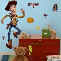RoomMates - Toy Story 3 - Woody Wallsticker 127CM