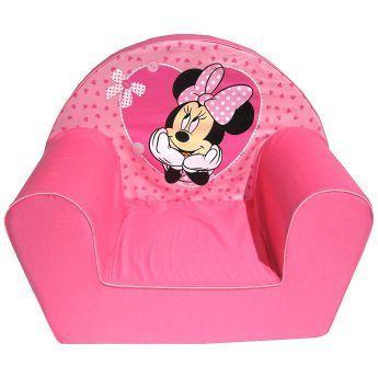 minnie fauteuil club en mousse rose pas cher achat. Black Bedroom Furniture Sets. Home Design Ideas