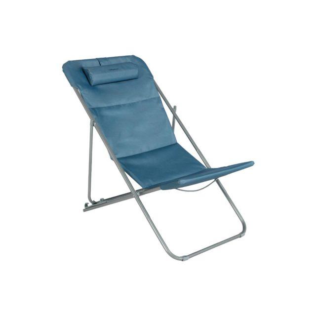 transat bleu achat vente de transat pas cher. Black Bedroom Furniture Sets. Home Design Ideas