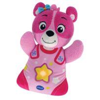 Vtech - Peluche veilleuse Mon ourson à merveilles : Rose