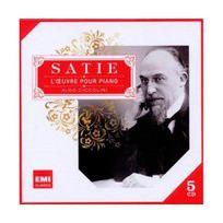 Emi Music France - Satie : Oeuvres pour piano Coffret 5 Cd