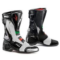 Falco , bottes moto sport racing Eso Lx 307 Italia noir \u0026 blanc T 39 Fr