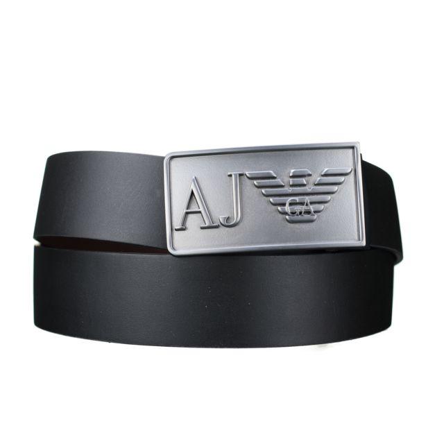 Armani Ea7 - Ceinture Armani Jeans Reversible 931501 - Cc885 00020  Noir Marron 7d7dd2705aa