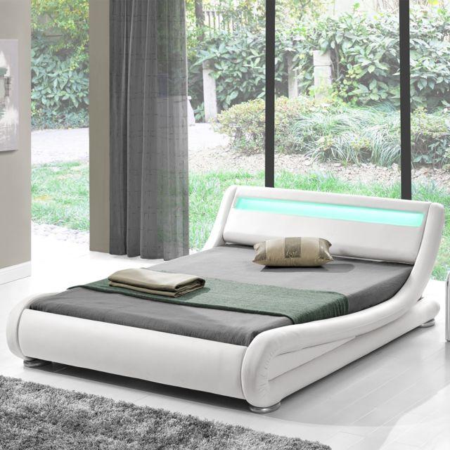 structure de lit 140x190 perfect cadre de lit x structure de lit cadre de lit tate de lit with. Black Bedroom Furniture Sets. Home Design Ideas
