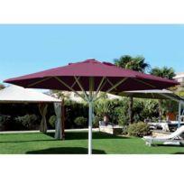 Abritez-vous Chez Nous - Parasol aluminium diam. 4m Maxisoco Bordeau