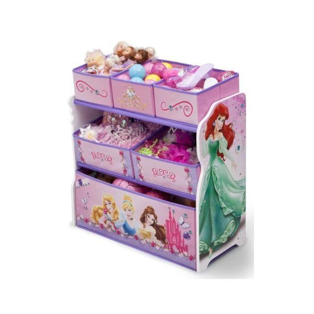 Delta Children Disney Princesses Meuble De Rangement Enfant Jouets 6 Bacs Pas Cher Achat Vente Buffets Chiffonniers Rueducommerce