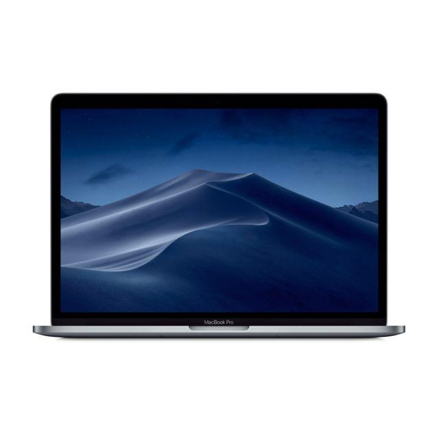 """APPLE MacBook Pro 13 - 256 Go - MPXT2FN/A - Gris Sidéral Processeur Intel® Core™ i5 Dual-Core (2,3 GHz / 3,6 GHz Turbo)- Ecran 13,3"""" Retina LED IPS (2560 x 1600 pixels) - SSD 256 Go - RAM 8 Go - Chipset graphique Intel Iris Plus Graph"""