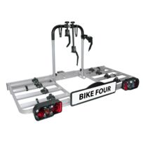 Eufab - Porte-vélos plateforme 4 vélos Bike Four d